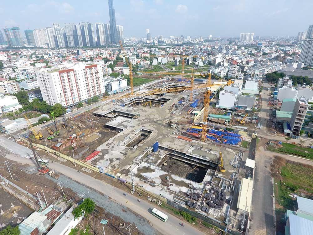 Dự án 1.300 căn hộ của đại gia Đinh Trường Chinh bị phạt vì xây không phép