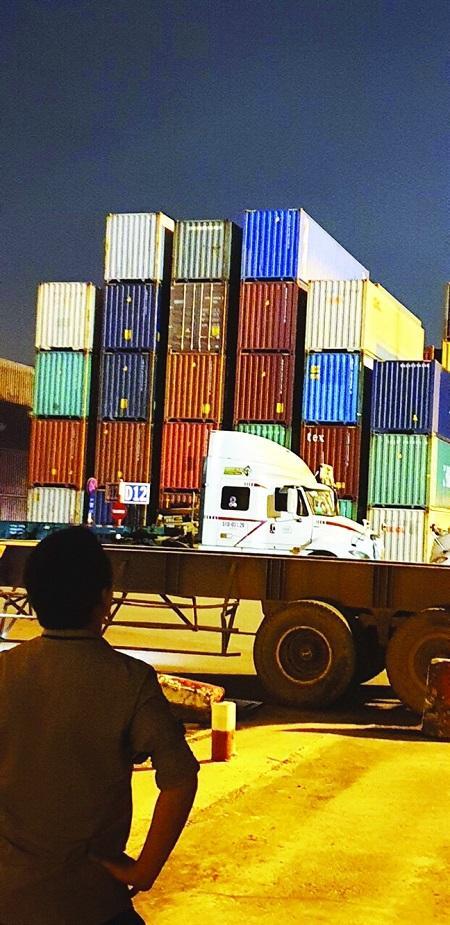Quá trình theo dõi tại cảng Cát Lái và các container tình nghi