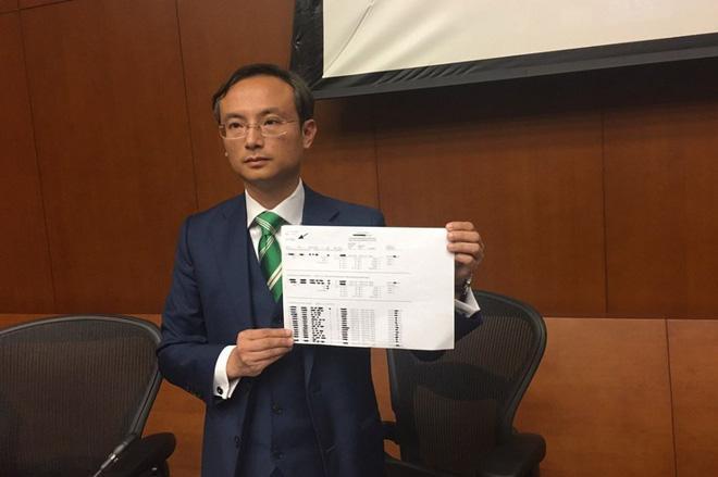 Nhà lập pháp Pierre Chan. Ảnh: Kris Cheng/HKFP.