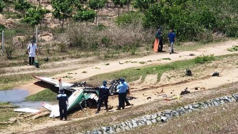 Máy bay quân sự rơi ở Khánh Hòa, 2 phi công tử nạn