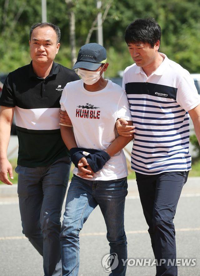Nghi phạm người Hàn Quốc bị giải tới tòa án ngày 8/7