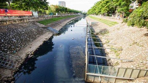 Xả hơn 1 triệu m3 nước xuống sông Tô Lịch, Công ty Thoát nước Hà Nội nói gì?