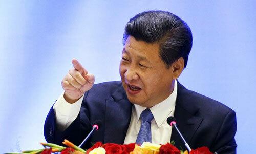 Chủ tịch Trung Quốc Tập Cận Bình phát biểu tại một hội nghị bàn tròn năm 2015 Seattle, Washington. Ảnh: Reuters.