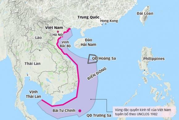 Trung Quốc ngụy biện về bãi Tư Chính - Ảnh 3.