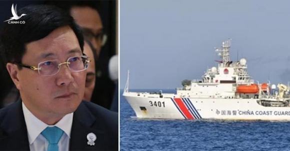 Phó thủ tướng Phạm Bình Minh ngày 31/7 lên án tàu Trung Quốc vi phạm chủ quyền Việt Nam tại Hội nghị ngoại trưởng ASEAN ở Thái Lan.