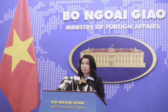Bác bỏ phát ngôn của Trung Quốc nói tàu Hải Dương 8 hoạt động trong vùng biển nước này - Ảnh 2.