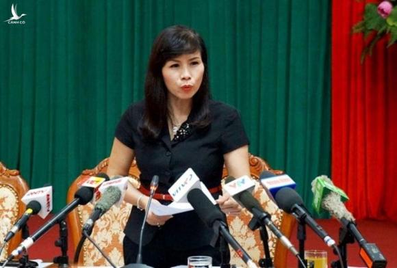 Bà Lê Mai Trang - Phó Chủ tịch UBND quận Thanh Xuân, Hà Nội