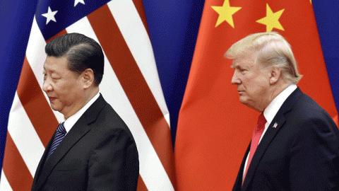 'Sóng gió' quan hệ Mỹ - Trung 2018: Từ chiến tranh thương mại đến xung đột trên Biển Đông