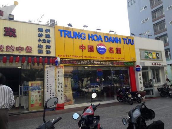 Đà Nẵng dẹp hàng loạt bảng hiệu tiếng Trung Quốc - ảnh 1