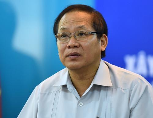 Cựu Bộ trưởng Trương Minh Tuấn thời còn đương chức. Ảnh: Giang Huy.
