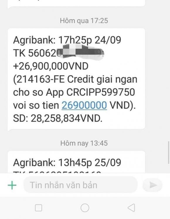 FE Credit cua VPBank bi to 'gai' khach hang, cu tu dong chuyen tien vao tai khoan