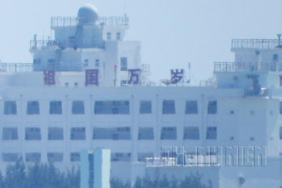 Hình ảnh mới nhất Trung Quốc xây dựng trái phép trên đá Gạc Ma - ảnh 4