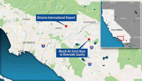 Máy bay sơ tán công dân Mỹ khỏi Vũ Hán bị buộc đáp xuống sân bay quân sự vào phút chót - Ảnh 3.