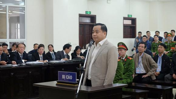 Bị cáo Phan Văn Anh Vũ trước tòa /// Ảnh Sơn Quân