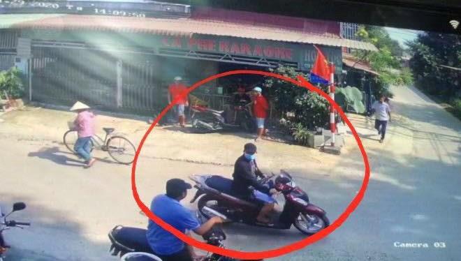 Hình ảnh nghi phạm cho camera ghi lại