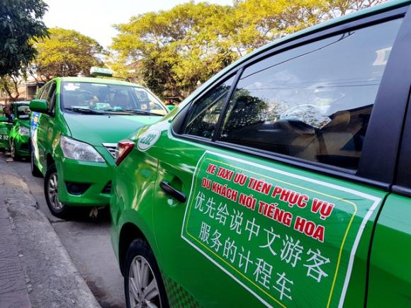 Lập đội taxi riêng phục vụ du khách nói tiếng Trung - 1