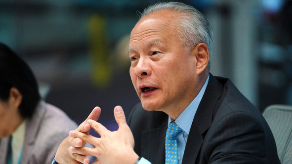 Đại sứ Trung Quốc: 'Thật điên rồ' khi tin virus corona là vũ khí sinh học - Ảnh 1.
