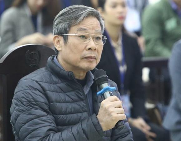 Ông Nguyễn Bắc Son tại phiên tòa sơ thẩm cuối tháng 12/2019. Ảnh: TTXVN