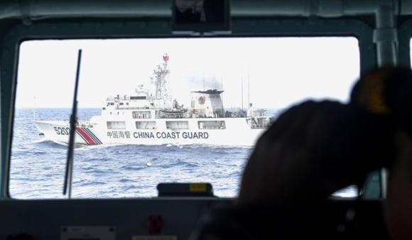 Tàu Cảnh sát Biển Trung Quốc xuất hiện tại EEZ của Indonesia quanh quần đảo Natuna /// Reuters