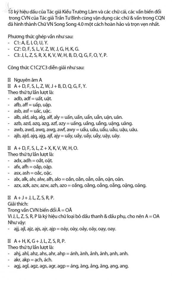 Tiếng Việt không dấu được cấp bản quyền, tác giả hy vọng chữ có thể đưa vào học - 11