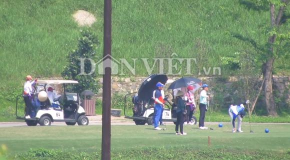san golf kim bang (ha nam) tap nap khach, trai chi thi thu tuong hinh anh 2