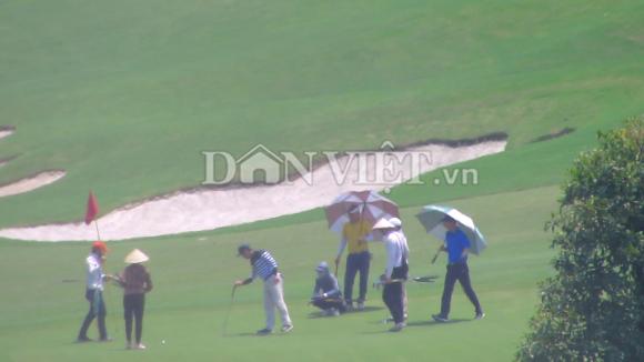 san golf kim bang (ha nam) tap nap khach, trai chi thi thu tuong hinh anh 5