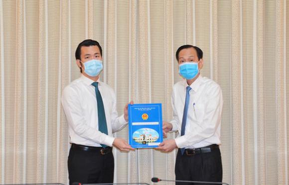 Ông Trương Tấn Sơn giữ chức Phó chủ tịch quận Tân Bình, TP.HCM - Ảnh 1.