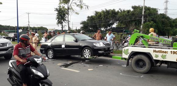 Chi tiết đặc biệt vụ Giang '36' vây nhốt xe chở công an: Vợ nguyên giám đốc Công an Đồng Nai lọt sổ 'cáo trạng'? - ảnh 1