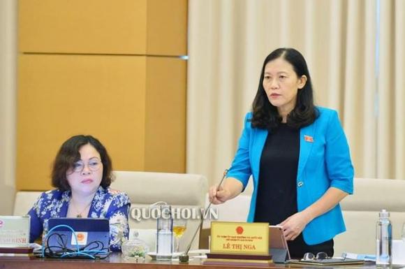 Bà Lê Thị Nga hỏi lý do 'mật' trong báo cáo của công an, VKS