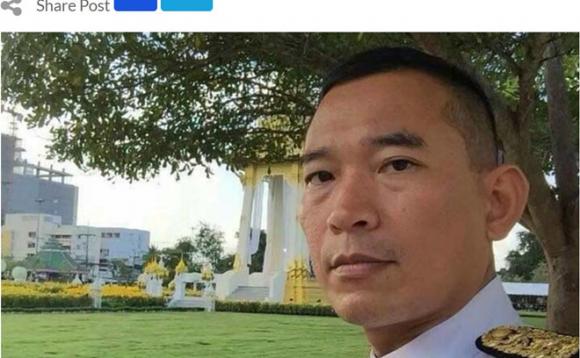 Người được cho là thẩm phán Khanakorn Pianchana /// Ảnh chụp màn hình Thai PBS World