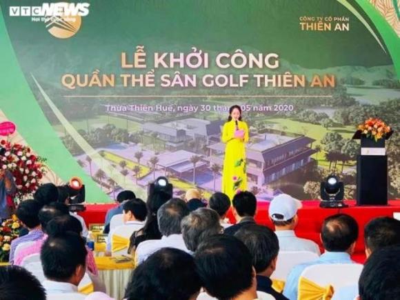 Khởi công dự án sân golf chưa phép ở Huế: Tổng Giám đốc dọa 'vặt cổ' nhà báo - 1