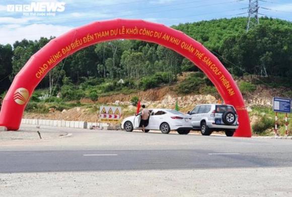 Khởi công dự án sân golf chưa phép ở Huế: Tổng Giám đốc dọa 'vặt cổ' nhà báo - 3