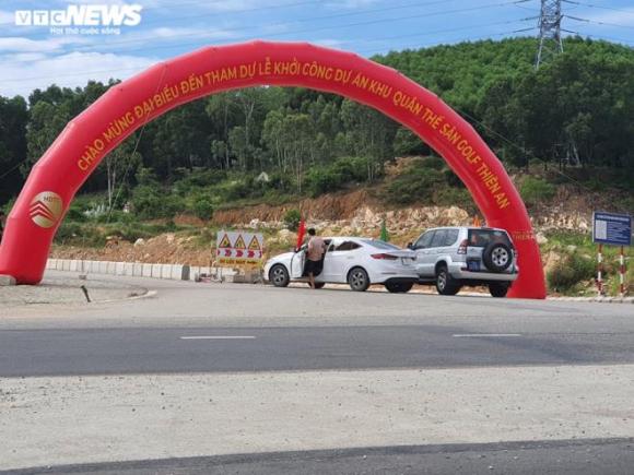 Nhiều lãnh đạo đi dự lễ khởi công dự án sân golf 'chui' ở Thừa Thiên - Huế - 4