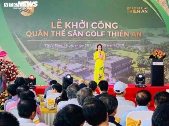 Nhiều lãnh đạo đi dự lễ khởi công dự án sân golf 'chui' ở Thừa Thiên - Huế - 1