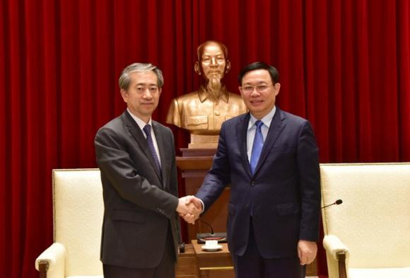 Đại sứ Trung Quốc: Đường sắt Cát Linh-Hà Đông là biểu trưng cho tình hữu nghị Việt Nam-Trung Quốc - Ảnh 1.