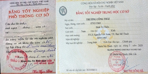 vu chu tich tp buon ma thuot truong cong thai bi to khai man bang cap nhung dau hieu lam trai qui dinh vi pham phap luat