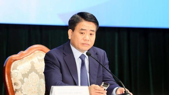 Ông Nguyễn Đức Chung bị tạm đình chỉ công tác trong 90 ngày /// Ảnh Ngọc Thắng