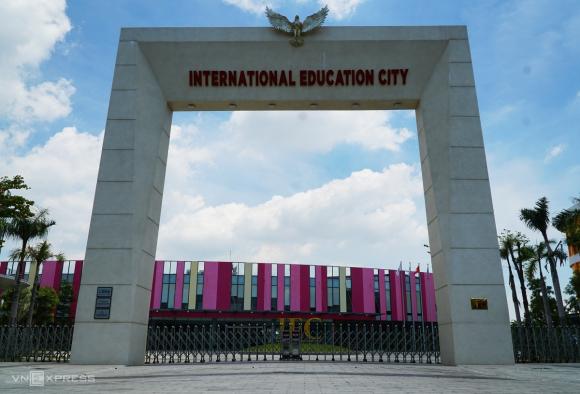 Thành phố giáo dục quốc tế Quảng Ngãi. Ảnh: Phạm Linh.