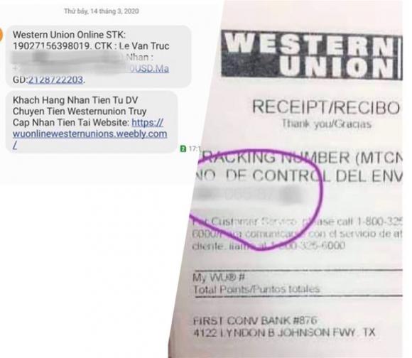 Một phút lơ là, bay ngay 300 triệu đồng: Nghi ngờ chiêu giả mạo Western Union lừa người bán hàng online trên Chợ Tốt - Ảnh 2.