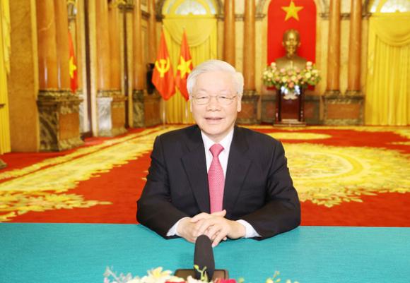 Tổng bí thư, Chủ tịch nước Nguyễn Phú Trọng gửi thông điệp tới Đại hội đồng LHQ - Ảnh 1.