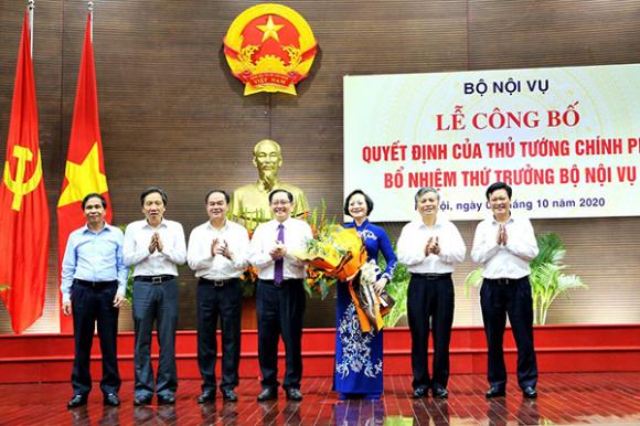 Cả nước có 110 thứ trưởng và tương đương, 201 phó chủ tịch tỉnh