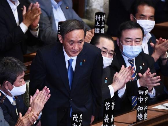 Tân Thủ tướng Nhật Bản Yoshihide Suga được cho là tiếp tục chính sách đối ngoại của người tiền nhiệm /// AFP