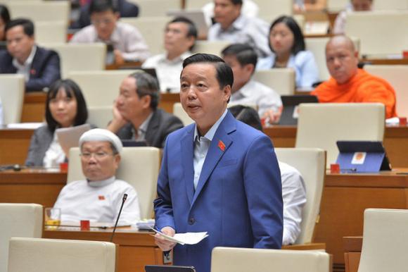 Bộ trưởng Trần Hồng Hà: Không thể không chuyển đổi rừng - Ảnh 1.