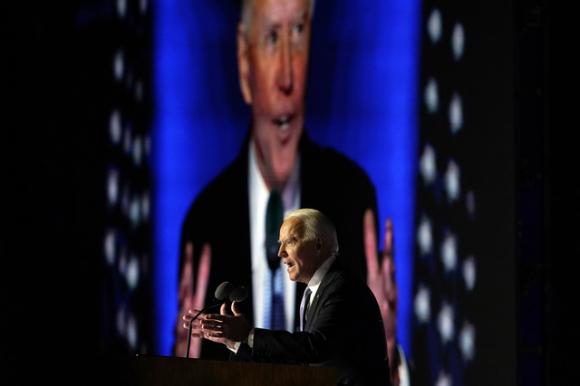Ông Joe Biden đắc cử Tổng thống Mỹ 2020 chỉ là dự đoán của truyền thông - Ảnh 1.