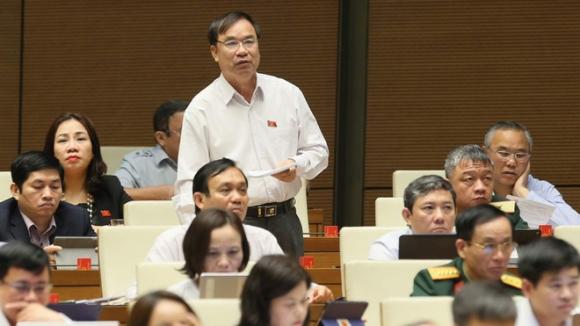 Đại biểu Nam Định Trần Quang Chiểu, Uỷ viên thường trực Uỷ ban Tài chính - Ngân sách của Quốc hội /// Ảnh Ngọc Thắng
