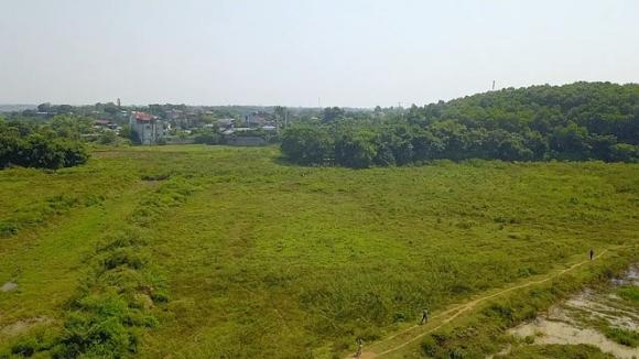 Khu đất 18,5 ha giao trái luật cho bà Nguyễn Thị Loan, 51 tuổi, ở Q.Hà Đông, TP.Hà Nội là chị gái ông Quyền /// Ảnh: Lê Quân
