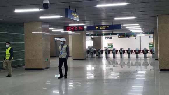 Tàu đường sắt Cát Linh Hà Đông: Đã in hàng triệu thẻ vé