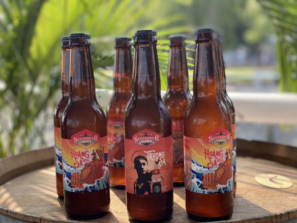 Lần đầu tiên Việt Nam có bia mang tên biển đảo - Ảnh 3.