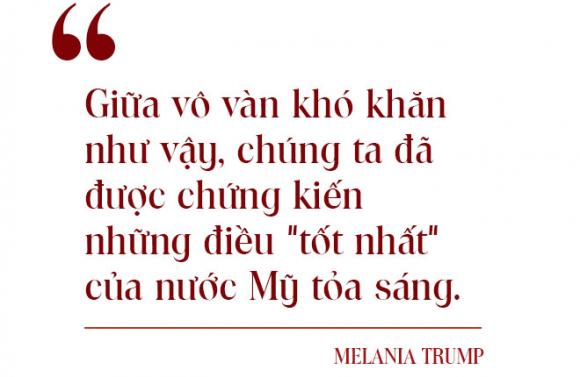 Toàn văn thông điệp chia tay xúc động của Đệ nhất Phu nhân Melania: Bạo lực không bao giờ là giải pháp - Ảnh 5.