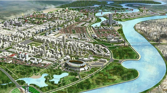 Phối cảnh dự án xây dựng KĐT mới Bắc sông Cấm, TP Hải Phòng